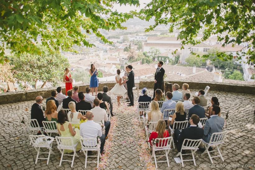 Destination Wedding Obidos Portugal
