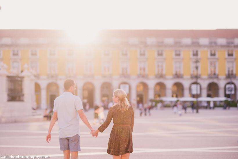 Engagement in Lisbon Portugal