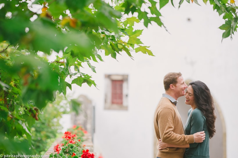 Engagement photos in Sintra Portugal