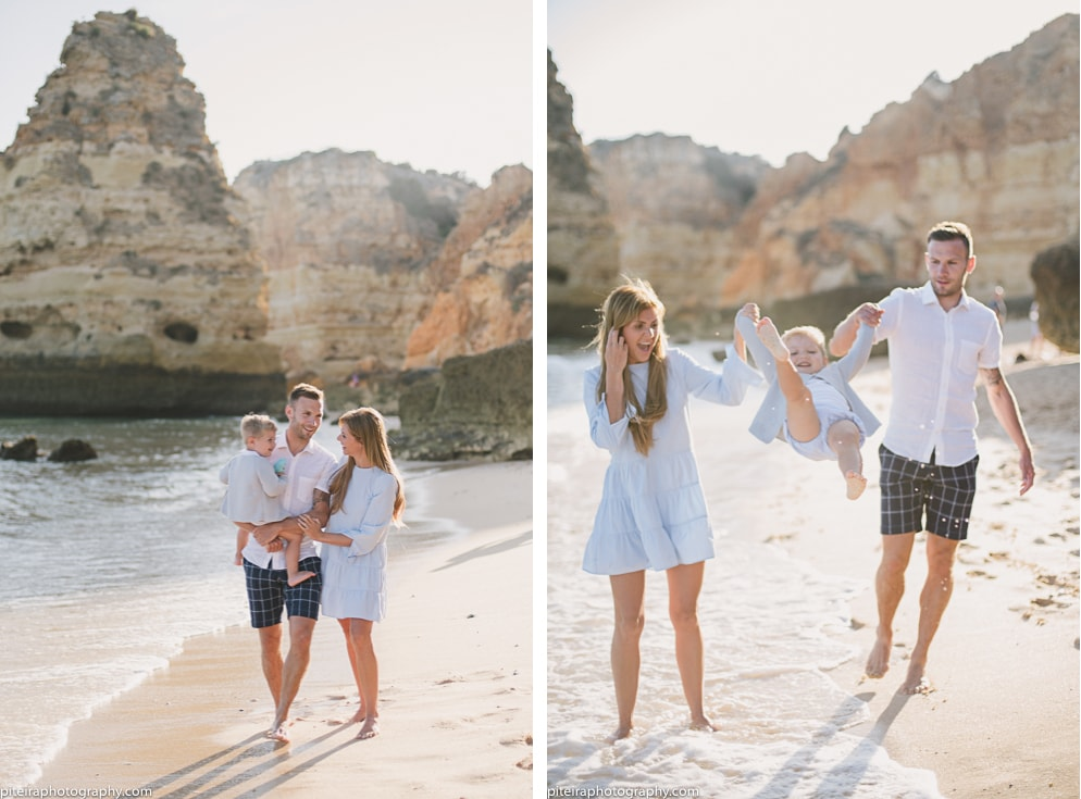 Family Photo Session Algarve Portugal
