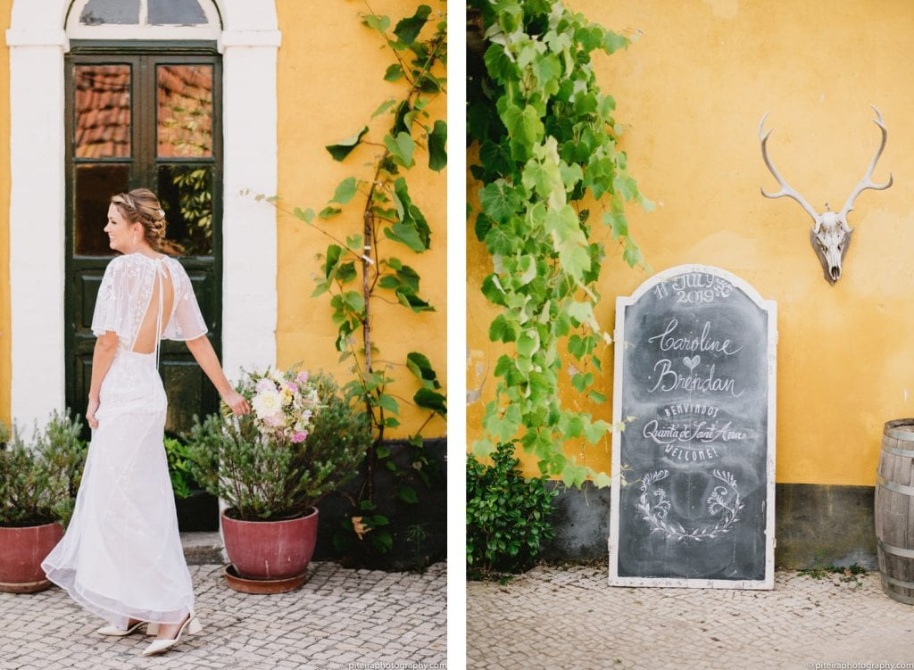 Destination Wedding at                      Quinta de SantAna