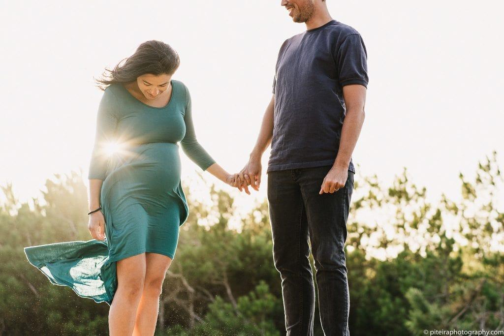 Pregnancy Photo-shoot in Portugal