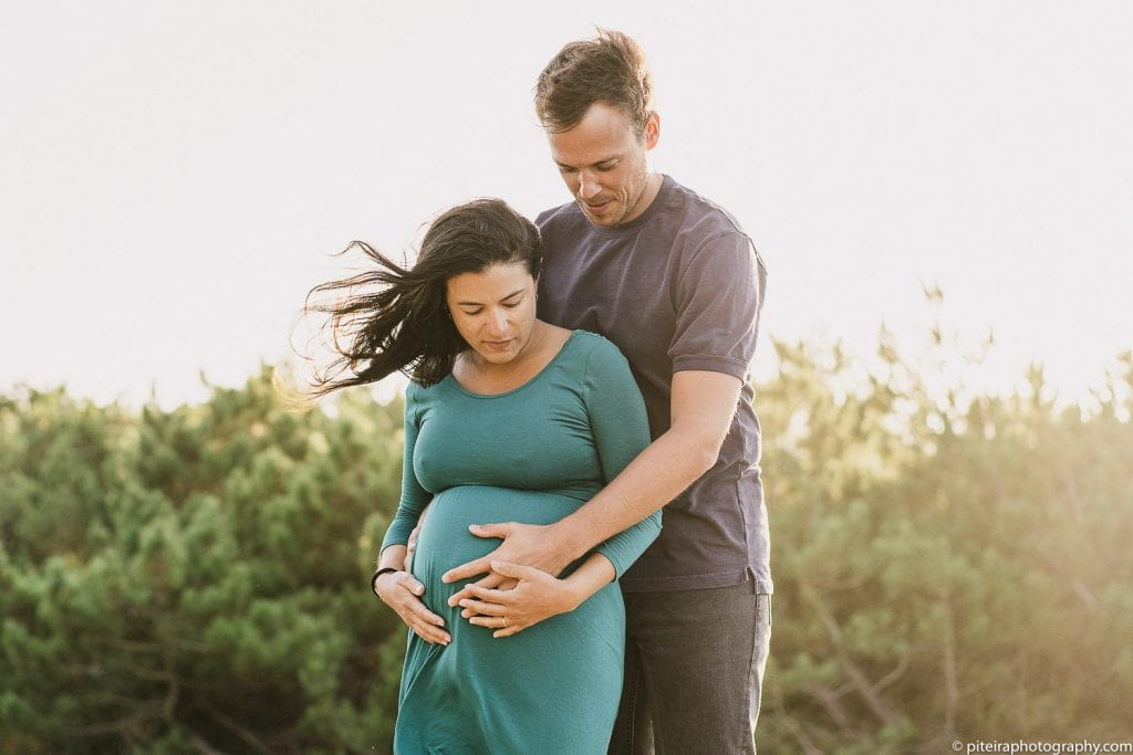 Pregnancy Photo-shoot in Portugal