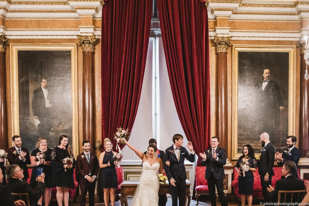 Destination wedding in Lisbon
