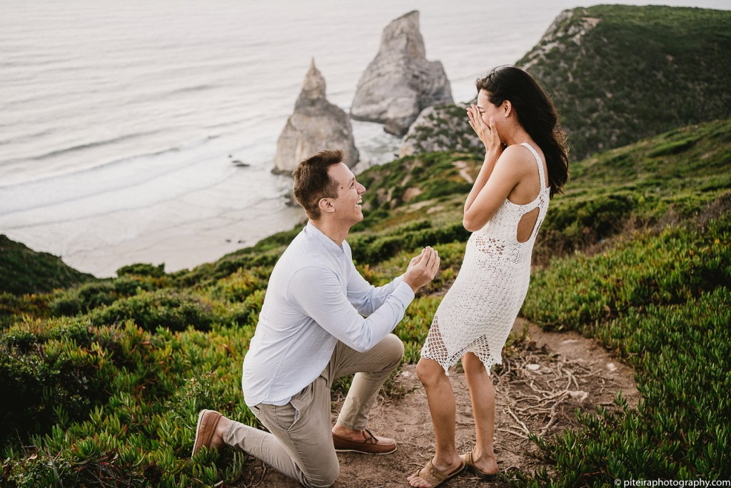 Marriage Proposal in Sintra
